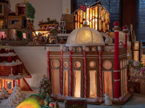 Gingerbread City Dome