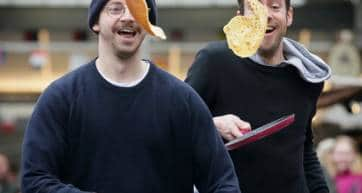 Flippin Good Fun Pancake Race