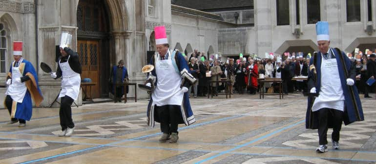 Inter-livery Pancake Race