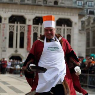 Inter-Livery Pancake Race