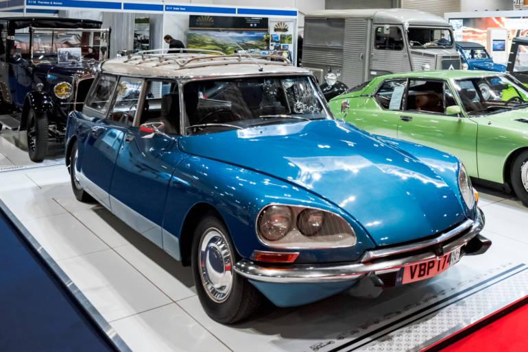 London Classic Car Show Press