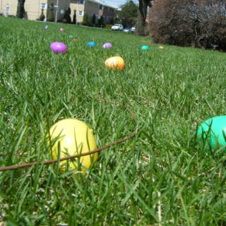 Easter Egg Hunt at Sutton House