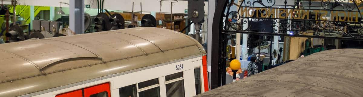 London Transport Museum Depot Acton