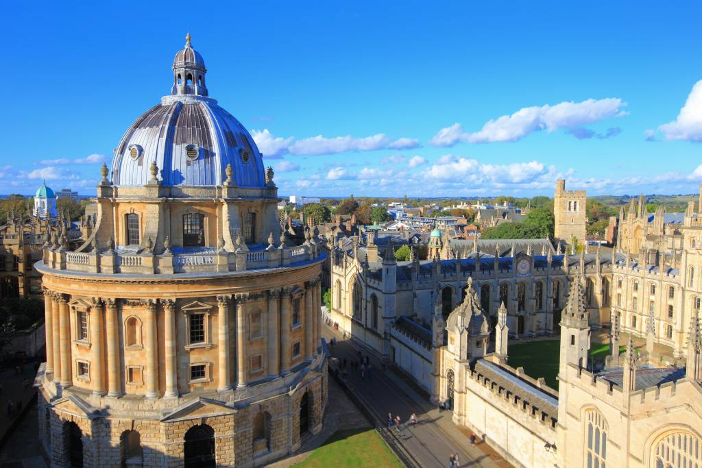 oxford day trip - view of the city