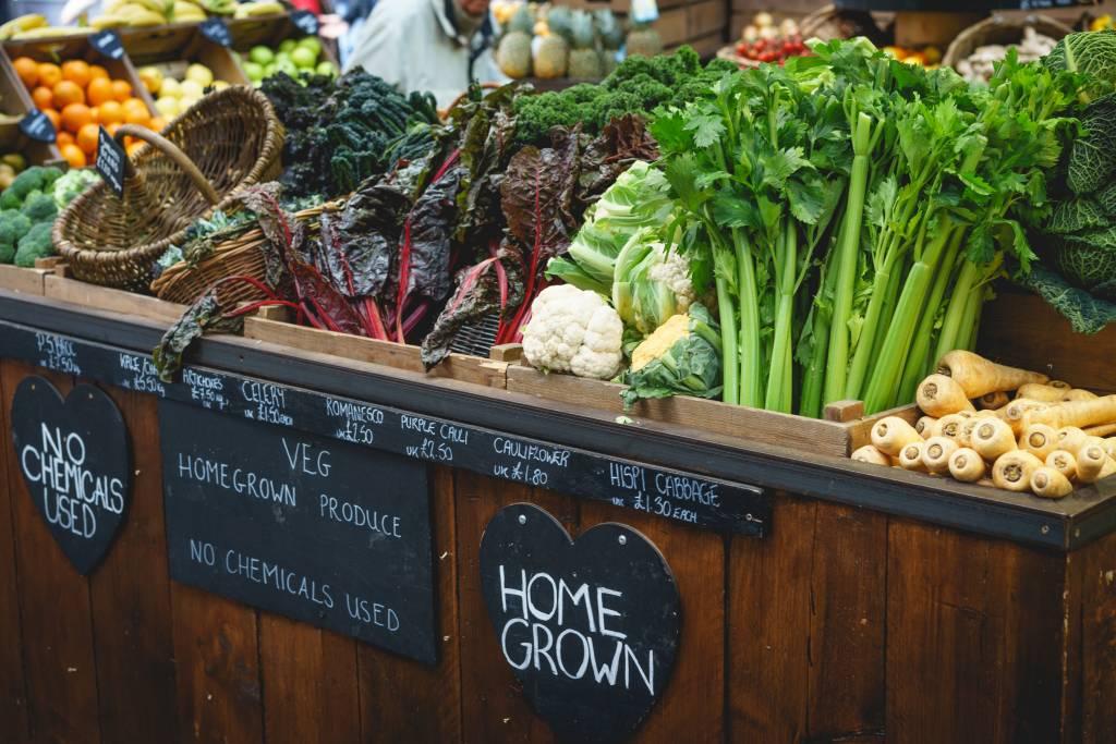 london veggie market