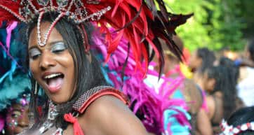 Notting Hill Carnival Dancer