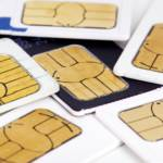 UK SIM cards assorted