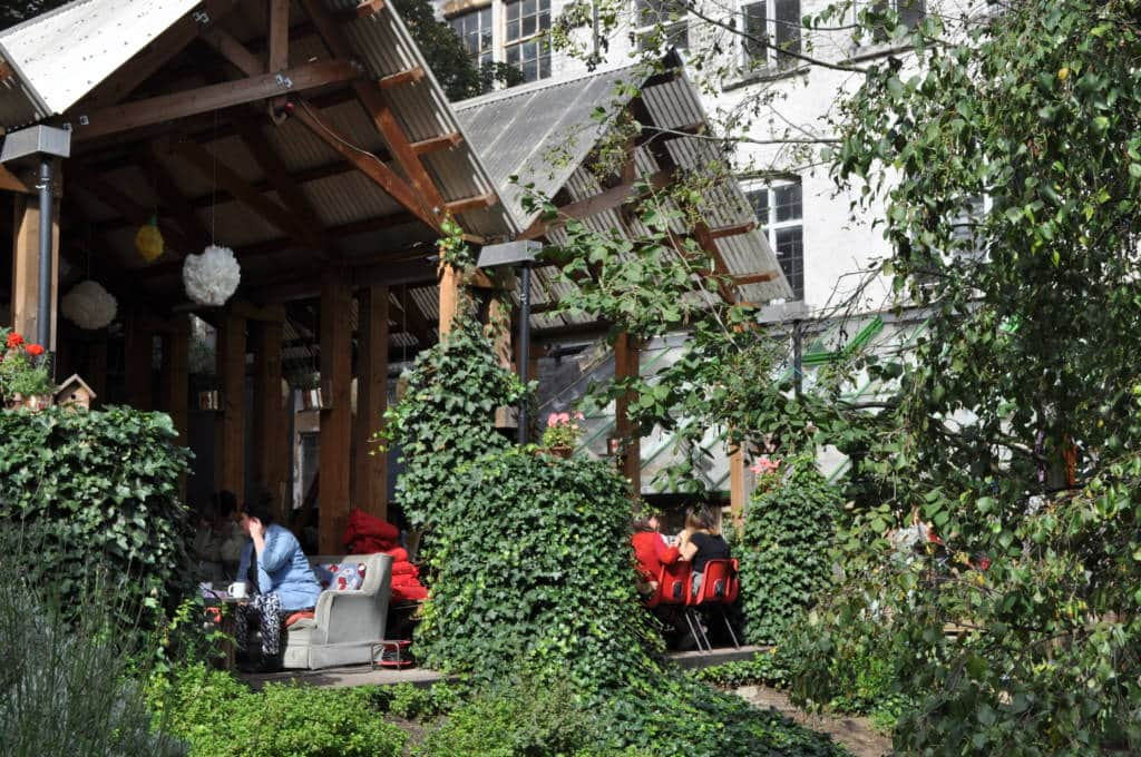 Things to do in Dalston Eastern Curve Garden