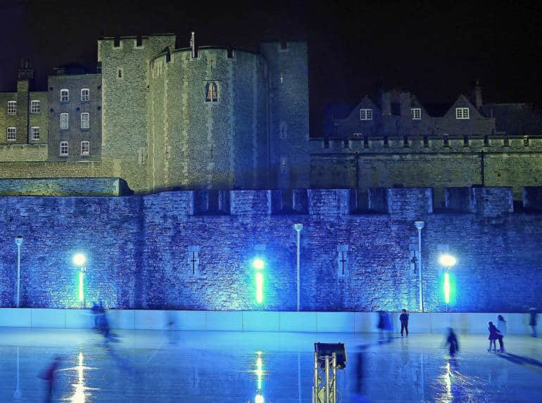 Tower of London Ice Skating