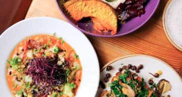 london vegan and vegetarian food