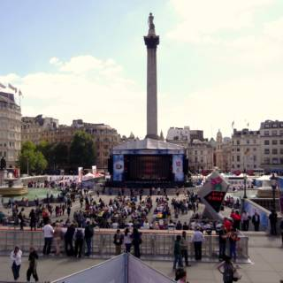 BP Big Screens at Trafalgar Square