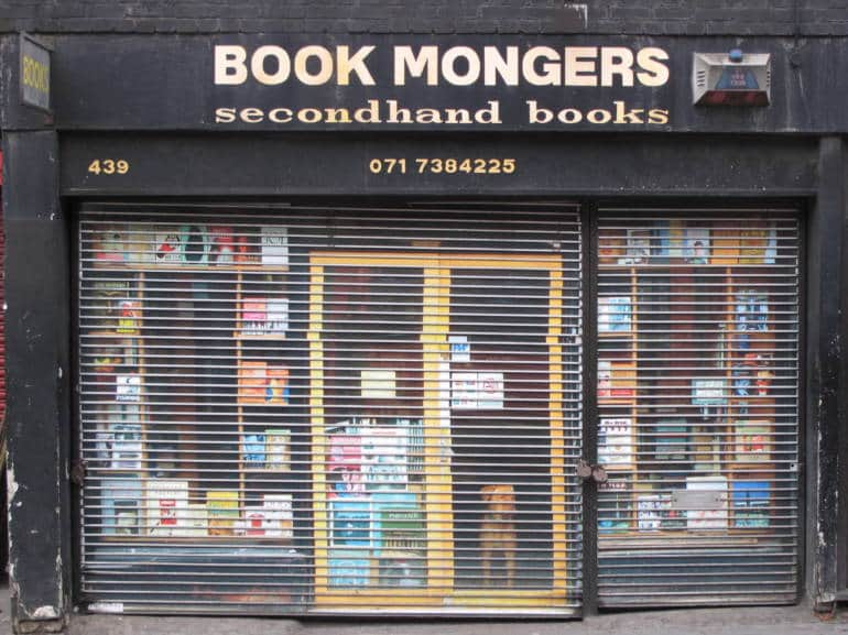 Things to do in Brixton—Book Mongers