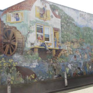 Big Splash Mural, Brixton