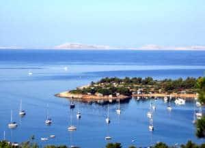 Budget Travel Europe: Croatian beach