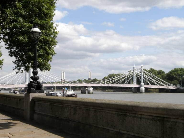 Kubrick in London: Albert Bridge