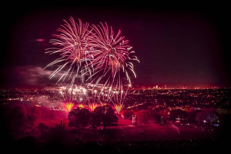 Alexandra Palace Fireworks