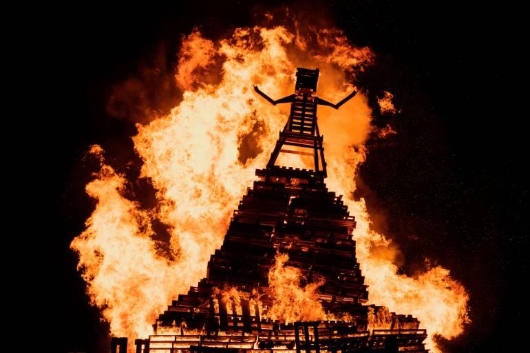 Alexandra Palace Fireworks Bonfire