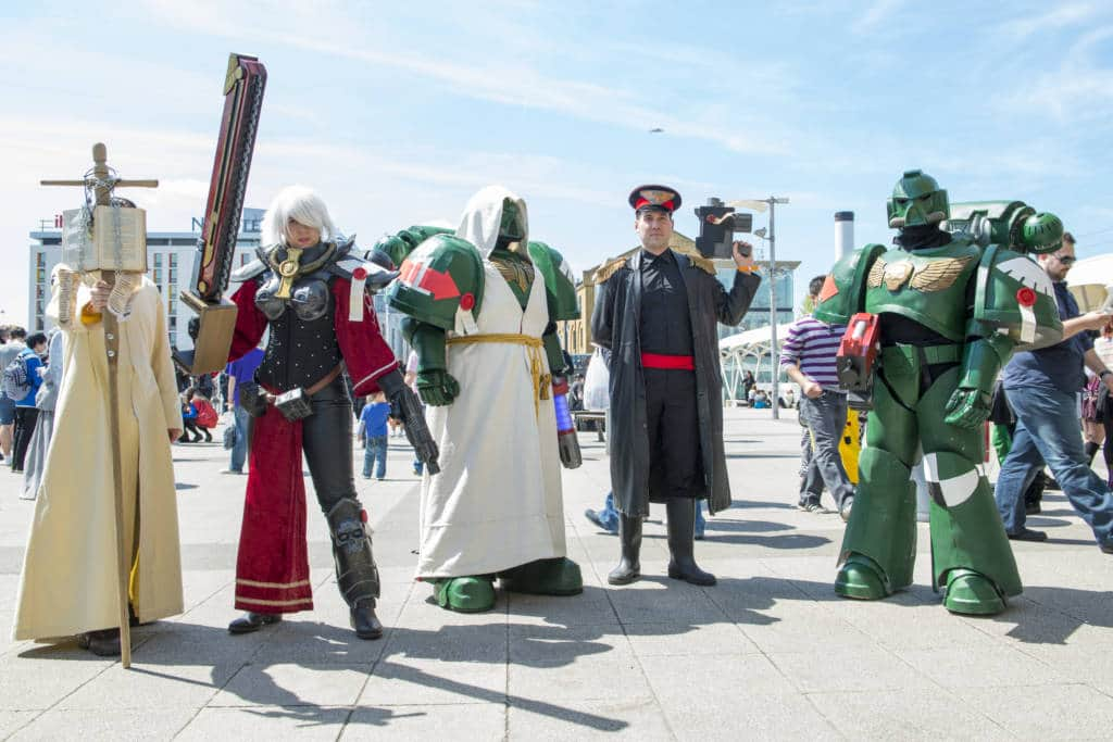 MCM Comic Con London Cosplayers
