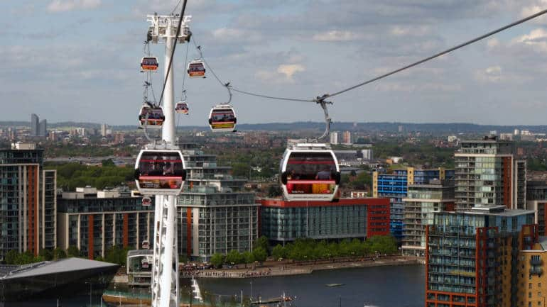 Things to do in London—ropeway