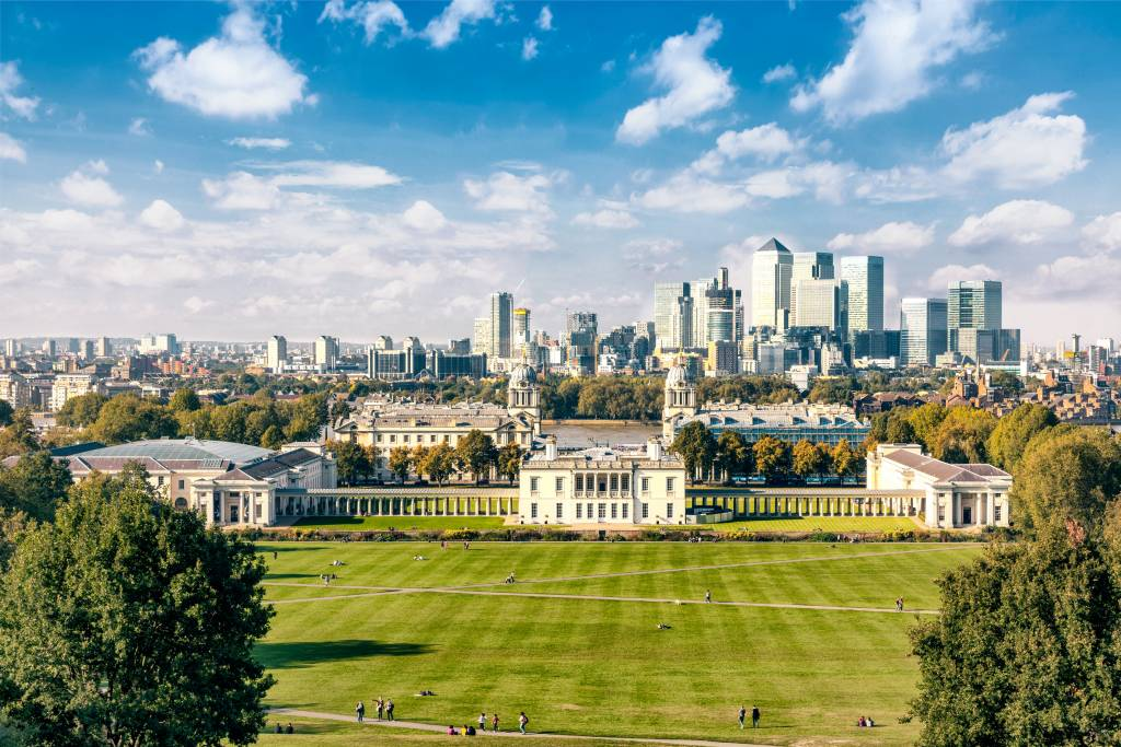Greenwich Park. London, Uk
