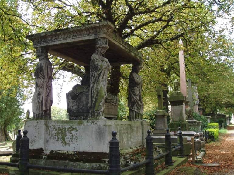 Kensal Green London Horror