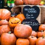 Halloween pumpkins, London