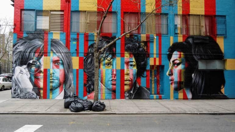27 club mural