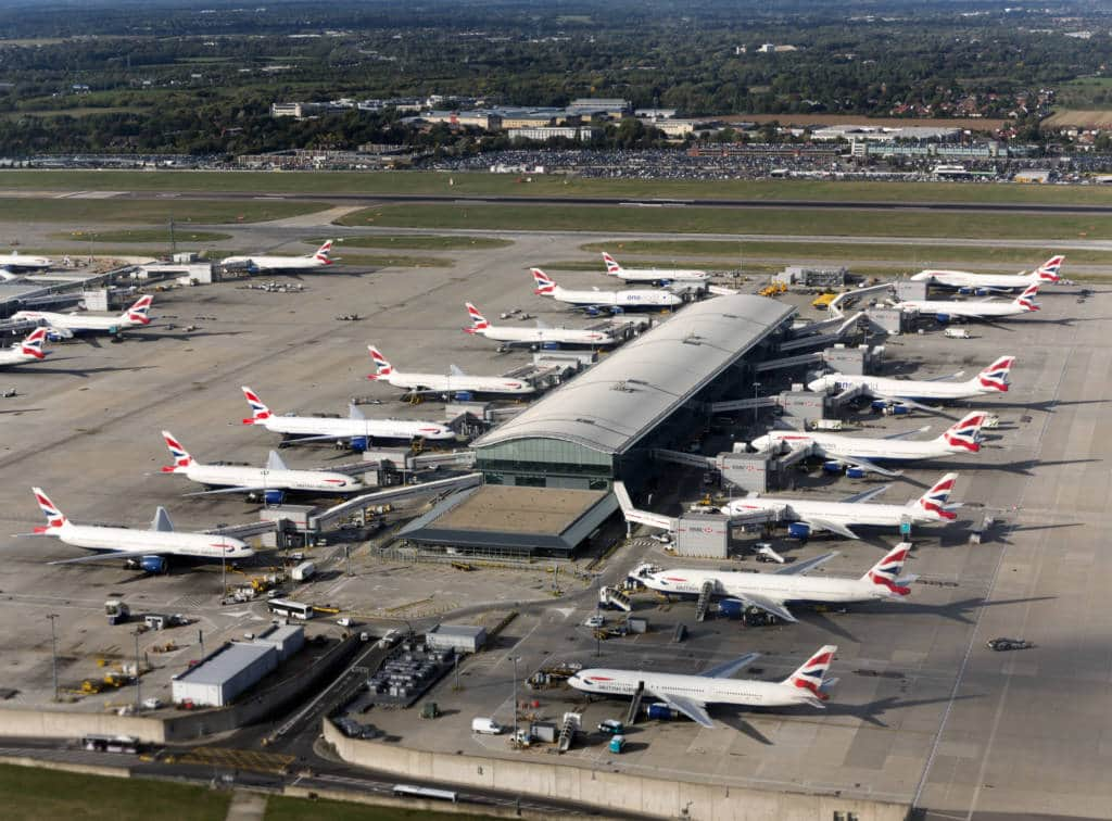 Heathrow carbon offsetting for flights