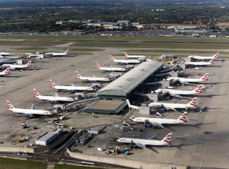 Heathrow from above