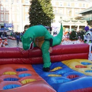 The Christmas Pudding Race