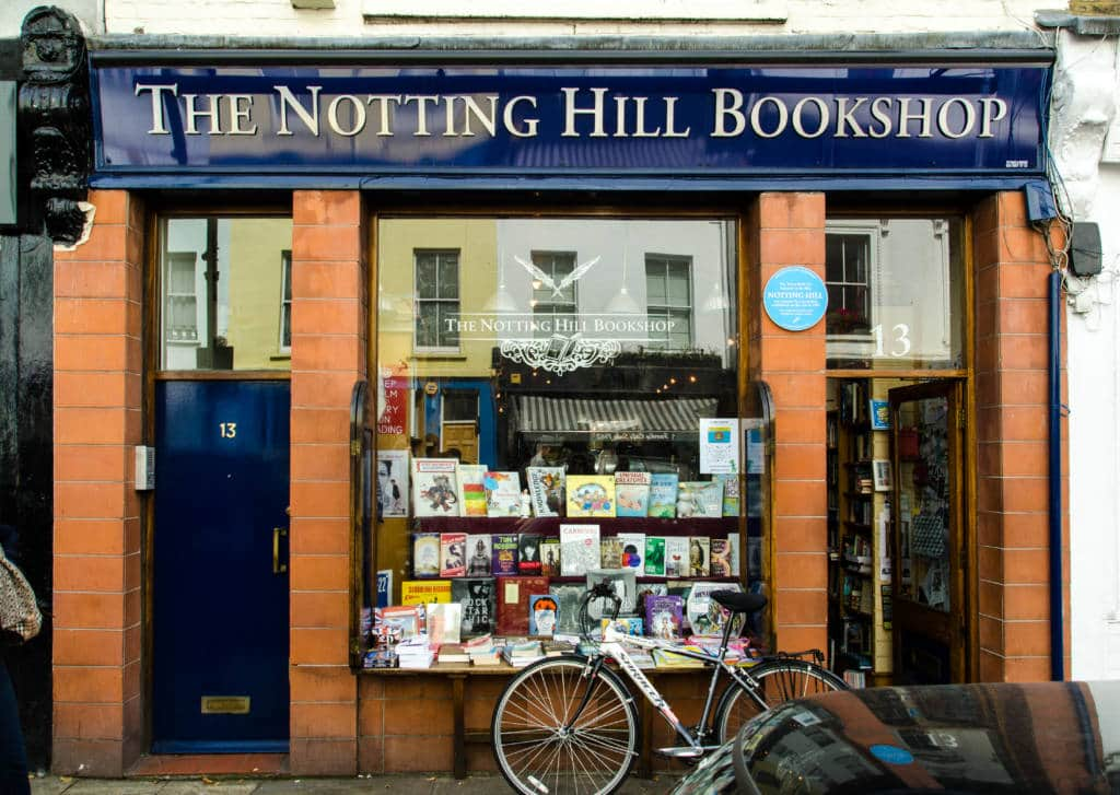 Rom-coms in London Notting Hill