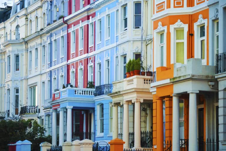 Things to do in Notting Hill houses