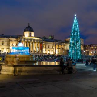 Christmas Carols in Trafalgar Square