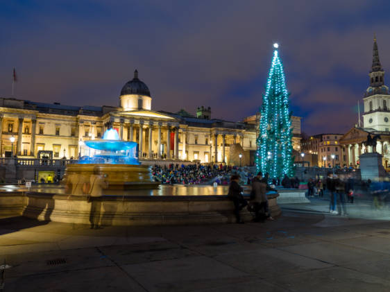 Trafalgar Square December 2019