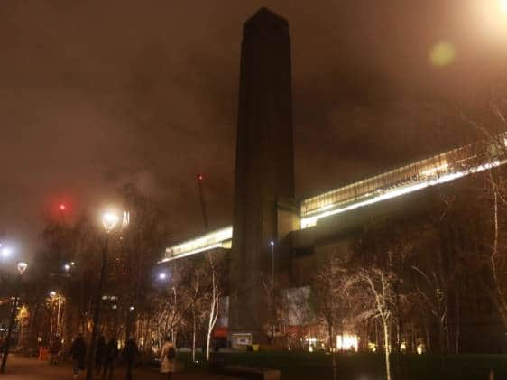 Tate Modern at night