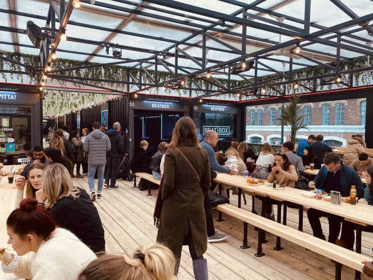 Boxpark london st patrick's day events