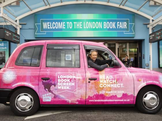 LBF London Book Fair Entrance