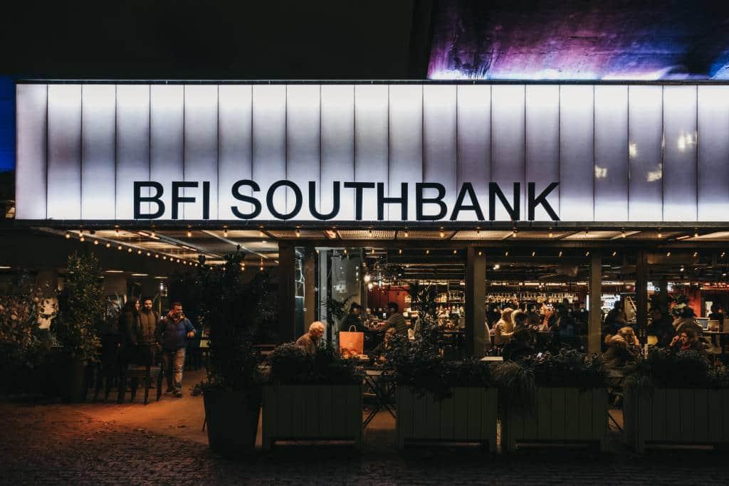 BFI Flare Southbank entrance