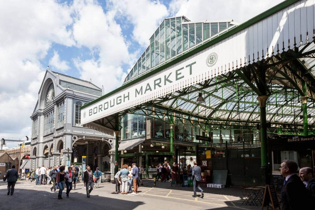 Rom Coms in London Borough Market