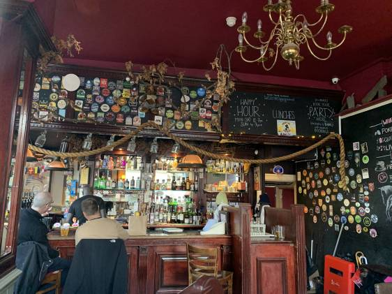 best pubs in Kentish Town Tapping the Admiral