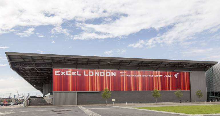 ExCel Exhibition Center in London Docklands