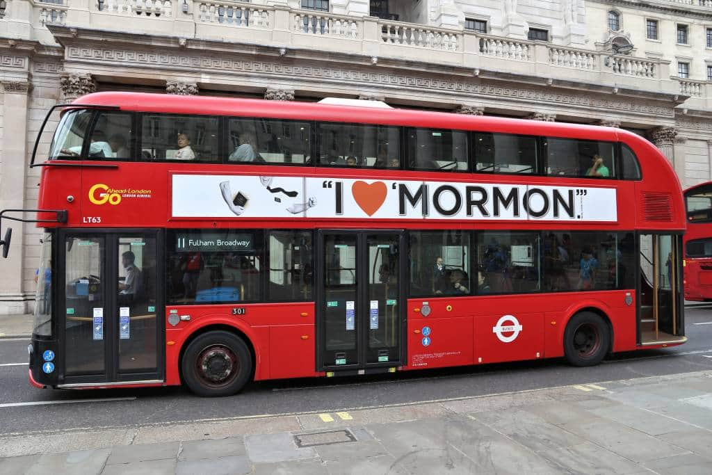 Cheap Book of Mormon tickets London