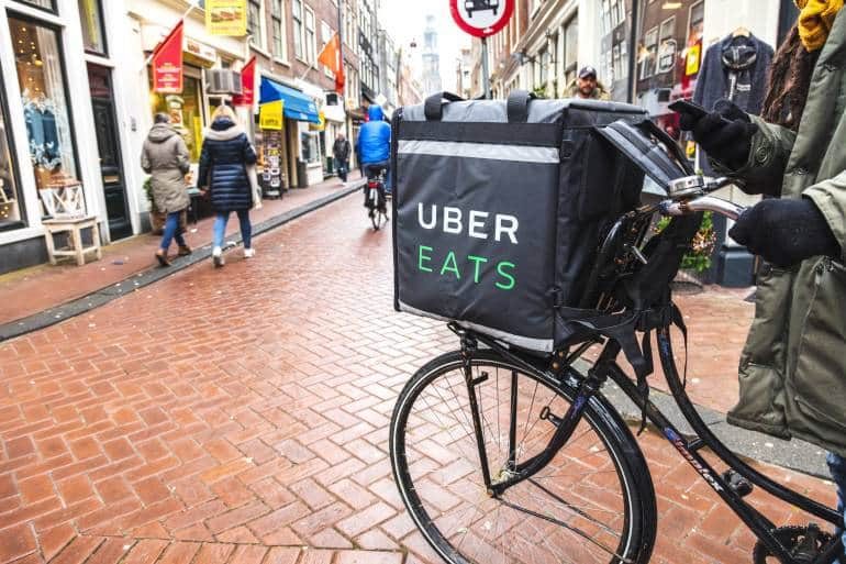 UberEats London Food delivery service
