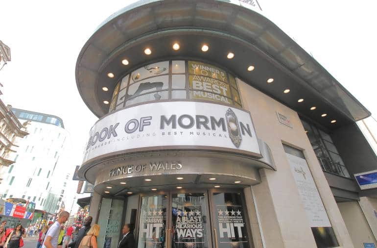 Prince of Wales Book of Mormon