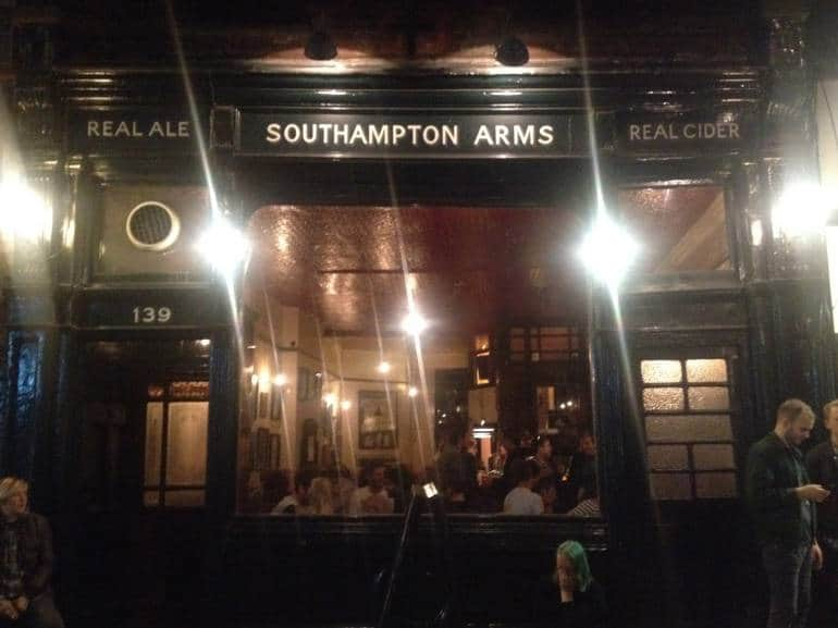 Best pubs in Kentish Town Southampton Arms