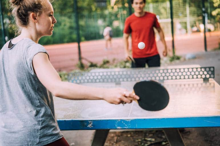 London Outdoor table tennis Tables