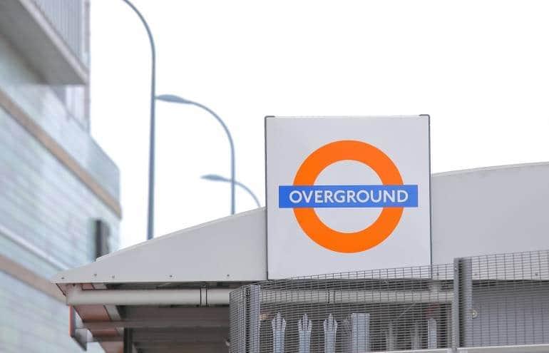 London Overground orange logo
