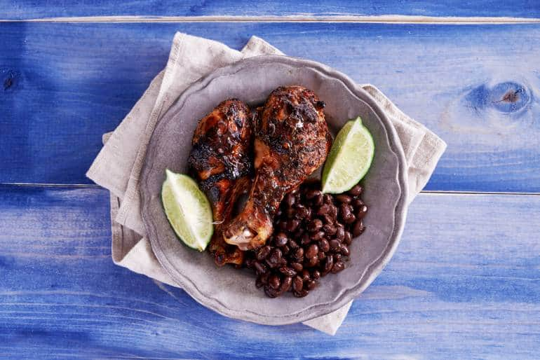 best jamaican jerk chicken food takeaway near Brixton