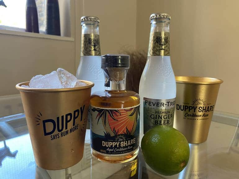 Duppy Share Home Rum London Cocktail Delivery