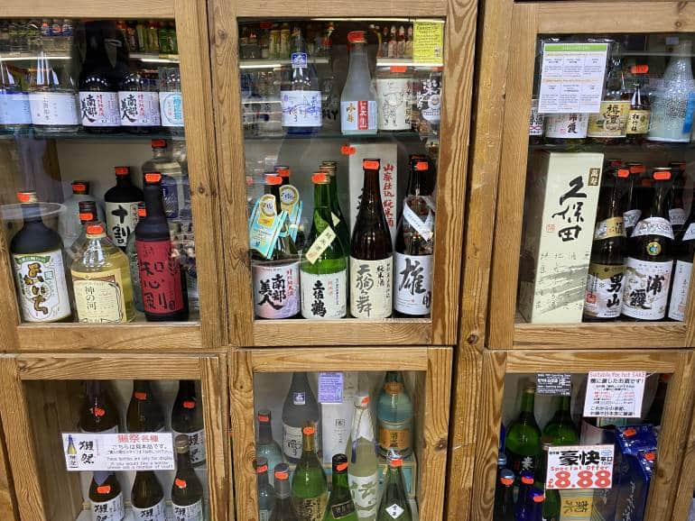 Japanese Sake Nihonshu Shochu